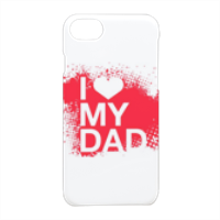 I Love My Dad - Cover iPhone 7 3D