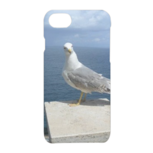 Gabbiano curioso Cover iPhone 7 3D