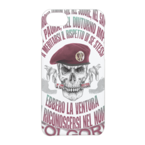 Come Folgore dal cielo Cover iPhone 7 3D