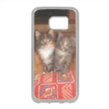 Kittens Cover in silicone Samsung S7