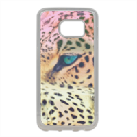 Leopard Cover in silicone Samsung S7 Edge