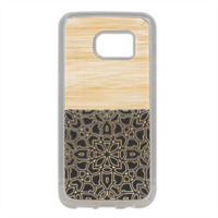 Bamboo Gothic Cover in silicone Samsung S7 Edge