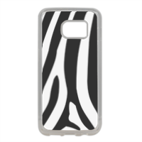 Zebra African Cover in silicone Samsung S7 Edge