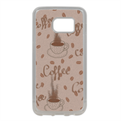 coffee Cover in silicone Samsung S7 Edge