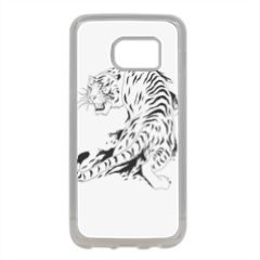 Tigre per cellulari Cover in silicone Samsung S7 Edge