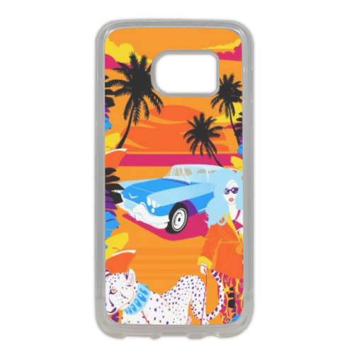 Rich Summer  Cover in silicone Samsung S7 Edge