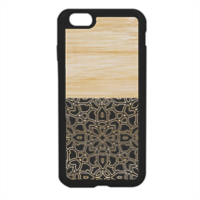 Bamboo Gothic Cover in silicone iPhone 6