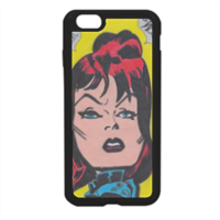 BLACK WIDOW Cover in silicone iPhone 6