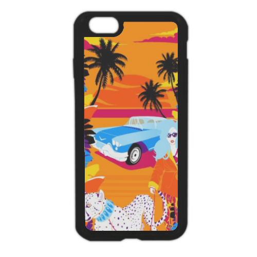 Rich Summer  Cover in silicone iPhone 6