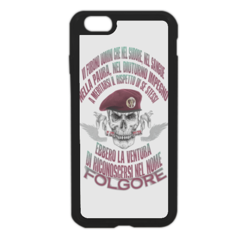 Come Folgore dal cielo Cover in silicone iPhone 6