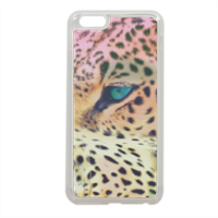 Leopard Cover in silicone iPhone 6 plus