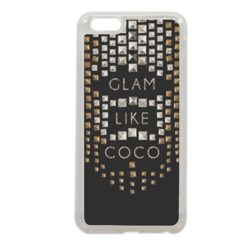 Glam Like Coco Cover in silicone iPhone 6 plus
