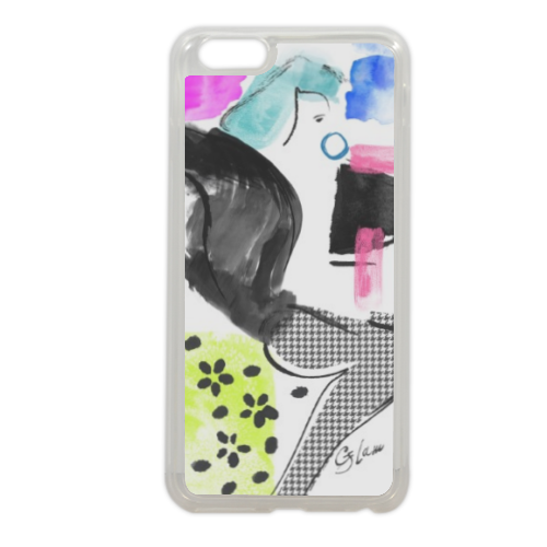 Glamour Cover in silicone iPhone 6 plus