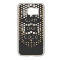 Glam Like Coco Cover in silicone Samsung S6
