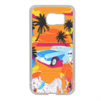 Rich Summer  Cover in silicone Samsung S6
