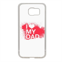 I Love My Dad - Cover in silicone Samsung S6