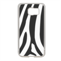 Zebra African Cover in silicone Samsung S6