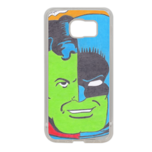 THE COMPOSITE SUPERMAN Cover in silicone Samsung S6