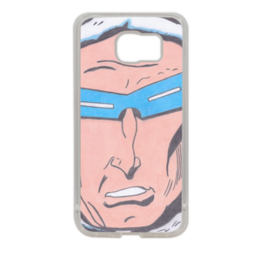 CAPITAN GELO Cover in silicone Samsung S6