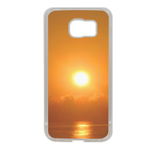 Sunrise Cover in silicone Samsung S6