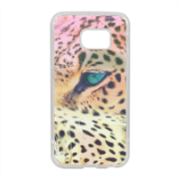 Leopard Cover in silicone Samsung S6 edge