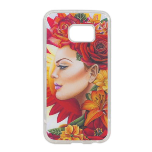 Anthea Cover in silicone Samsung S6 edge