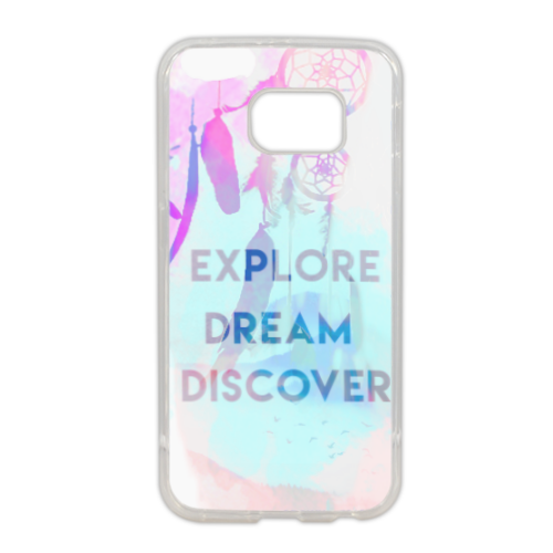 dreamcatcher Cover in silicone Samsung S6 edge