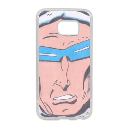 CAPITAN GELO Cover in silicone Samsung S6 edge