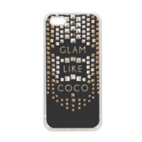 Glam Like Coco Cover in silicone iPhone 5-5S