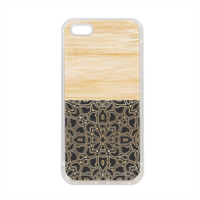 Bamboo Gothic Cover in silicone iPhone 5-5S
