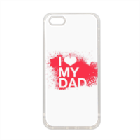 I Love My Dad - Cover in silicone iPhone 5-5S