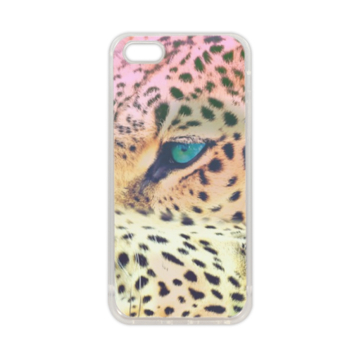 Leopard Cover in silicone iPhone 5-5S