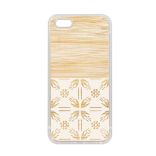 Bamboo and Japan Cover in silicone iPhone 5-5S