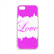 Roseventi Love Cover in silicone iPhone 5-5S