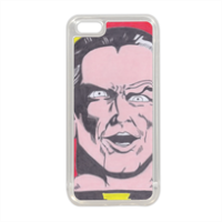 BLACK ADAM Cover in silicone iPhone 5C