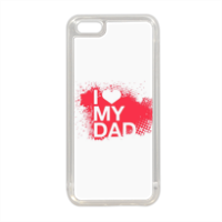 I Love My Dad - Cover in silicone iPhone 5C