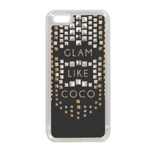 Glam Like Coco Cover in silicone iPhone 5C