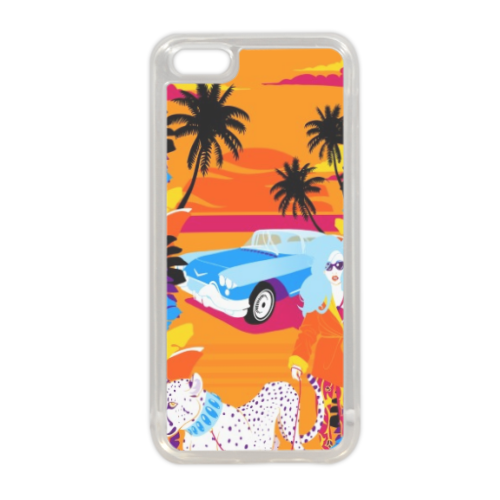 Rich Summer  Cover in silicone iPhone 5C