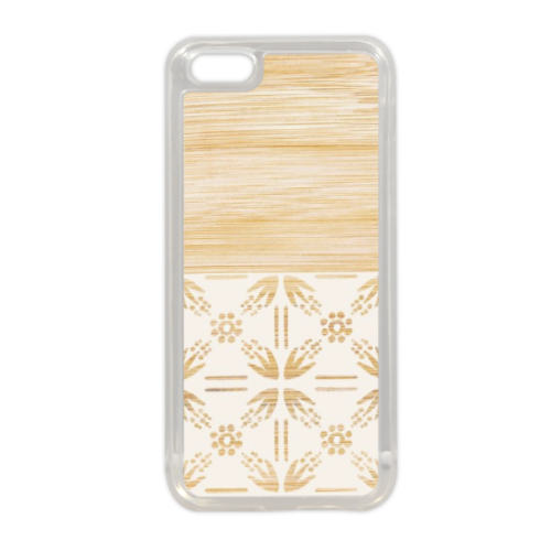 Bamboo and Japan Cover in silicone iPhone 5C