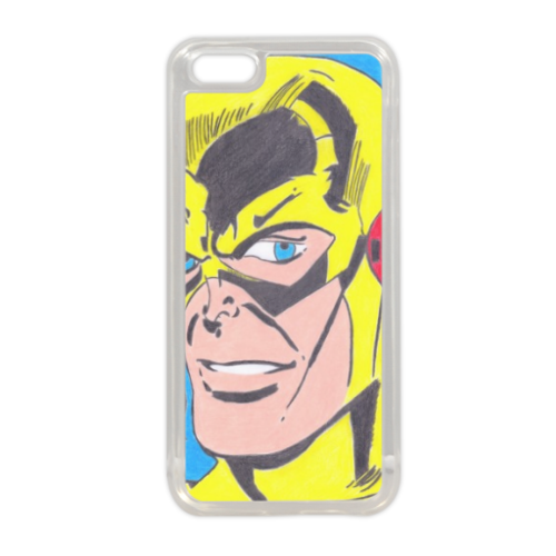 PROFESSOR ZOOM Cover in silicone iPhone 5C