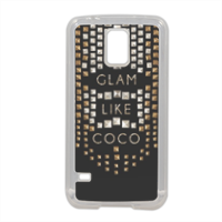 Glam Like Coco Cover in silicone Samsung S5