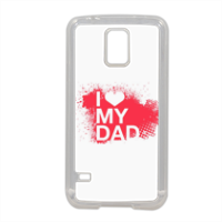 I Love My Dad - Cover in silicone Samsung S5