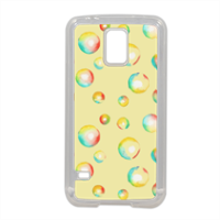bolle di acquerello Cover in silicone Samsung S5