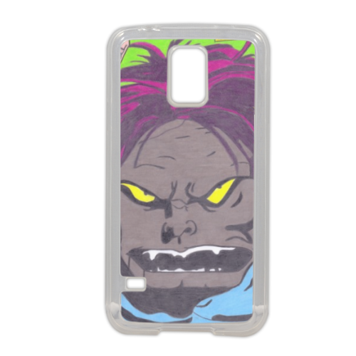 MAN BULL Cover in silicone Samsung S5