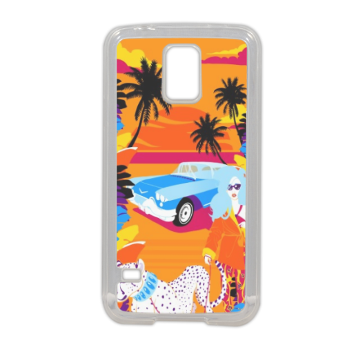 Rich Summer  Cover in silicone Samsung S5