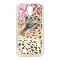 Leopard Cover in silicone Samsung S4