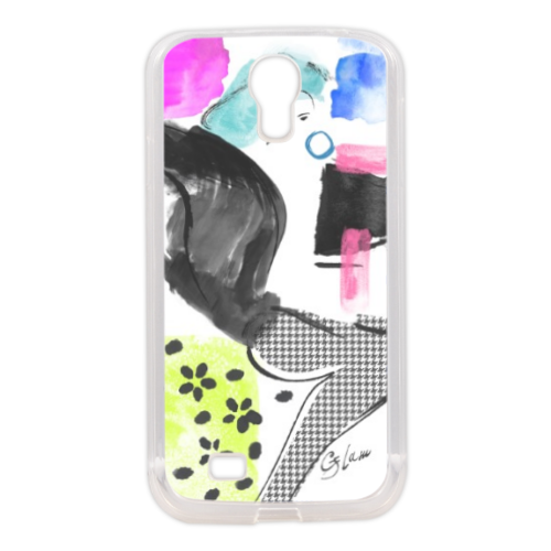 Glamour Cover in silicone Samsung S4