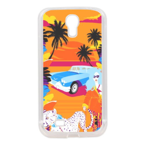 Rich Summer  Cover in silicone Samsung S4