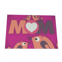 Mamma I Love You - Cartolina magnetica