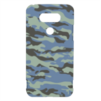 Blue camouflage  Cover LG G5 3D